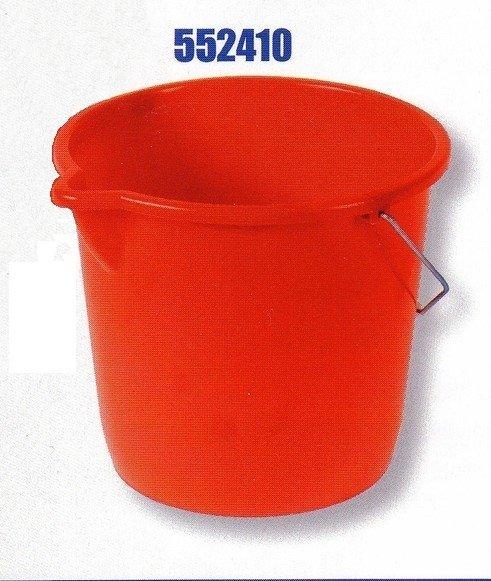 Plastikeimer RIVAL 552 410 - 10 l mit Ausguss