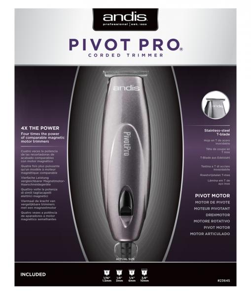 Andis PivotPro T-Blade Trimmer 2