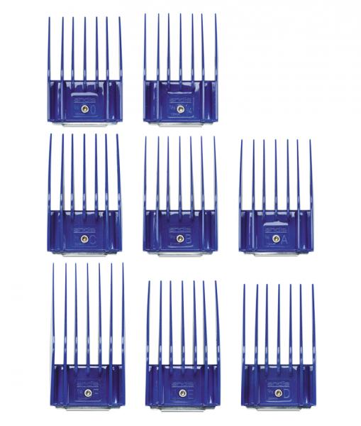 Andis Kunststoffkammset mit Metallclip - Set II (16-32 mm) 2