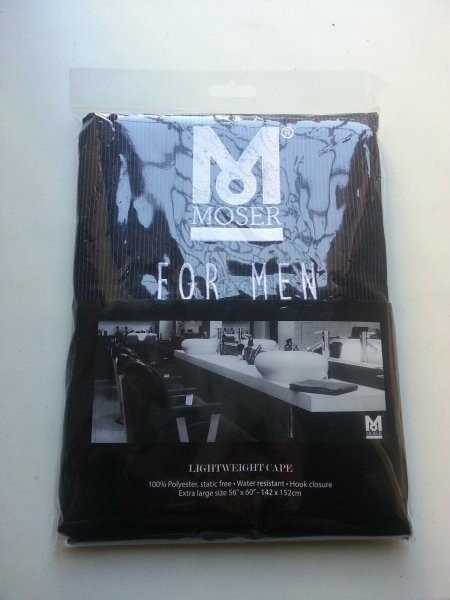 MOSER Genio Pro mit Friseurregenmantel 3