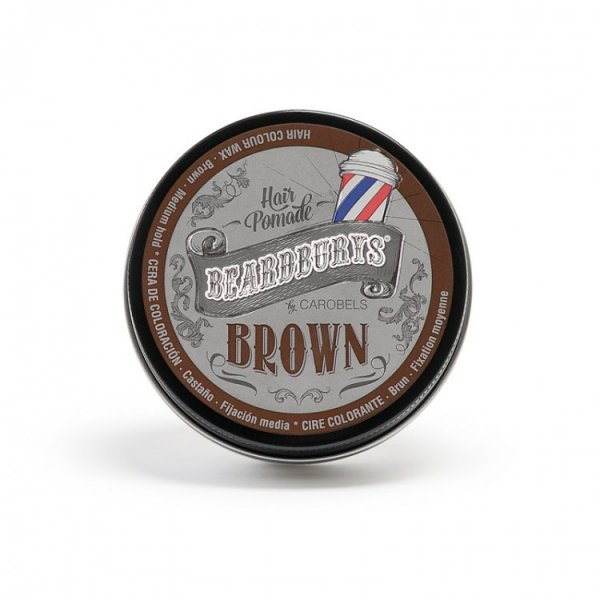 Beardburys Farbe Brown Hair Pomade