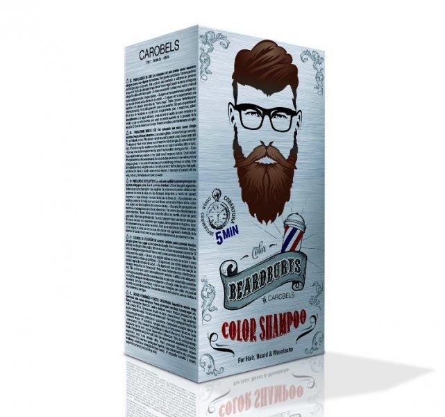 Beardburys Haar- und Bart-Shampoo - Dunkelbraun 2
