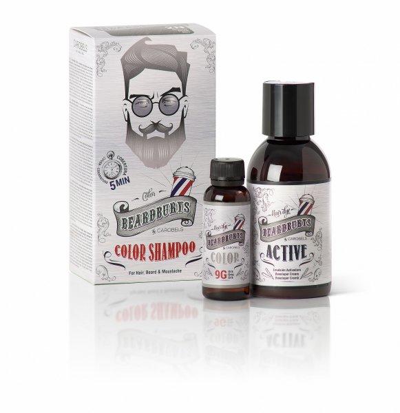 Beardburys Haar & Bart Färbung Shampoo