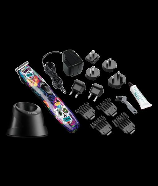 Andis Slimline Pro Li T-Blade - Skull Design 3