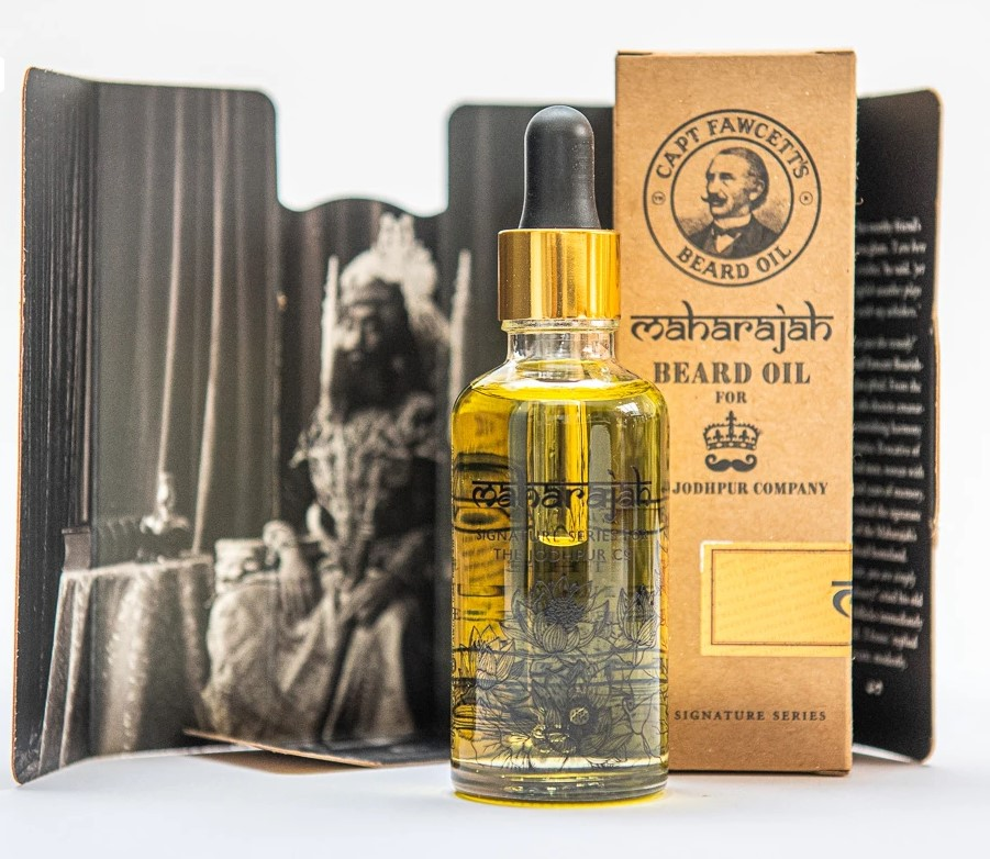 Reisepaket Luxusöl Captain Fawcett 10 ml. 2